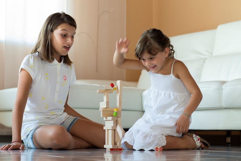 crazy palace3 palazzo pazzo costruzioni in legno e gioco da talvolo per bambini