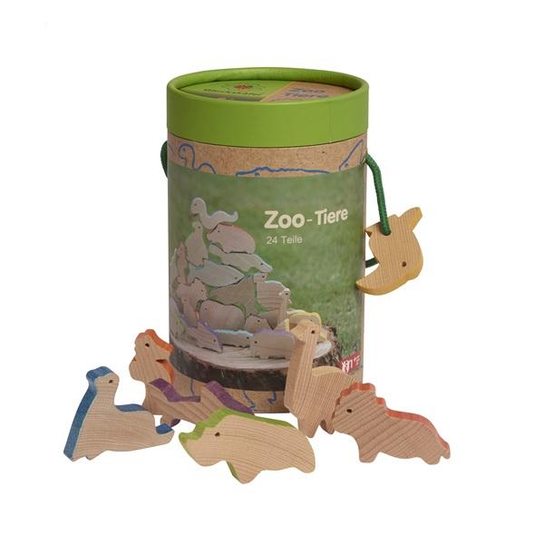 動物つみ木 動物園