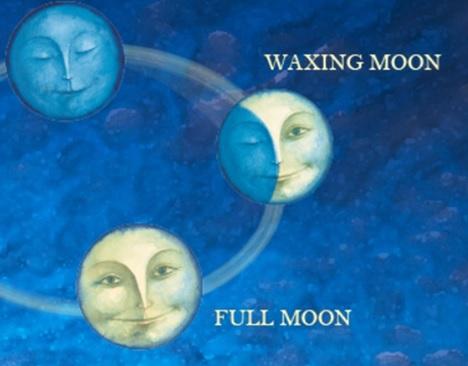 新月~満月