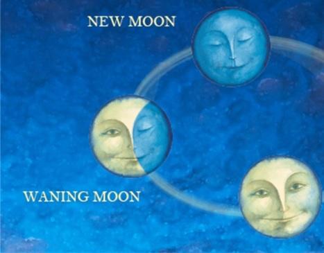 満月~新月