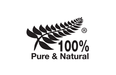 100%PURE&NATURAL